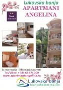 Apartmani ANGELINA - apartmani u Lukovskoj Banji